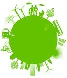 Monde écologique Images libres de droits