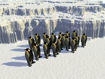 Monde 14 de glace Photos libres de droits