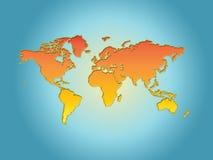 Monde. Image libre de droits