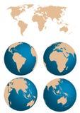 Monde Image libre de droits