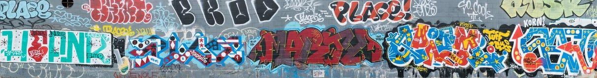 Monde abstrait coloré de graffiti Photo libre de droits