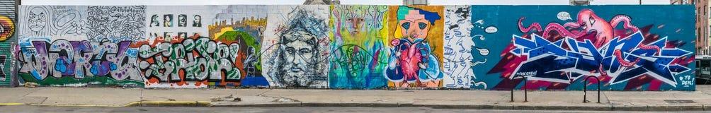 Monde abstrait coloré de graffiti Photo stock