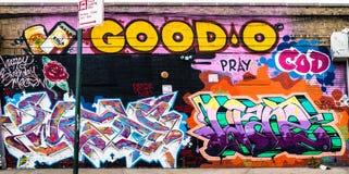 Monde abstrait coloré de graffiti Photos stock