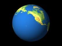 Monde, Amérique du Nord, Pacifique Images libres de droits