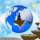 Monde astral illustration de vecteur