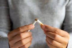 Monde aucun jour de tabac, le 31 mai Cessez le fumage photographie stock libre de droits
