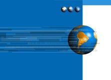 Monde binaire 02 Photographie stock libre de droits