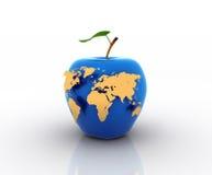 monde bleu Photo libre de droits