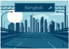 Monde central (CTW) de centres commerciaux le centre ville célèbre dedans de Bangkok illustration stock