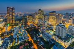 Monde central (CTW) de centres commerciaux le centre ville célèbre dedans de Bangkok images libres de droits