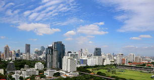 Monde central (CTW) de centres commerciaux le centre ville célèbre dedans de Bangkok Image libre de droits