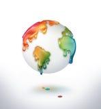 Monde coloré Photo libre de droits