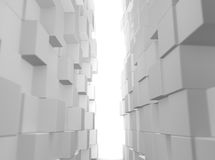 Monde cubique Photos stock