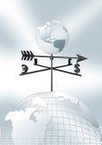 Monde d'affaires Image stock