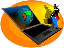 Monde d'affaires Images libres de droits