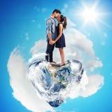 Monde d'amour Images libres de droits