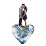 Monde d'amour Photo stock