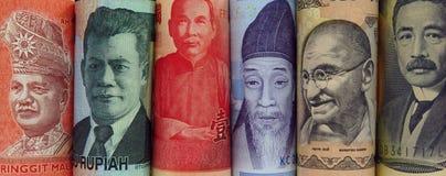 Monde d'argent Photographie stock libre de droits