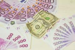 Monde d'argent Photo stock