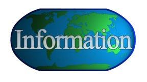 Monde d'information Image stock
