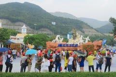 Monde d'océan de Shenzhen Photo libre de droits