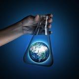 Monde dans le tube Images libres de droits
