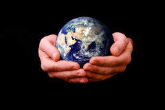monde de aide Photographie stock libre de droits