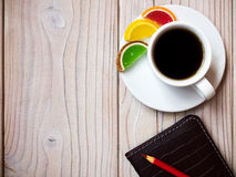 Monde de café Photographie stock