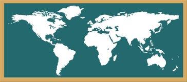 monde de carte Photos libres de droits