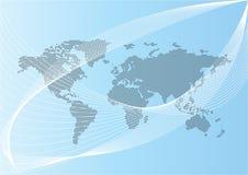 monde de carte illustration libre de droits