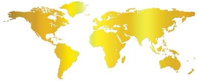 monde de carte Photographie stock