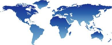 monde de carte Photographie stock libre de droits