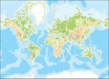 monde de carte Photo libre de droits