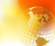 monde de carte de globe illustration libre de droits