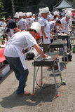 monde de championnat de 2009 barbecues Photos stock