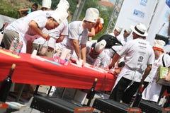 monde de championnat de 2009 barbecues photographie stock libre de droits