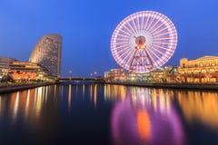 Monde de Cosmo à Yokohama Image libre de droits
