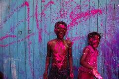 Monde de couleur Photographie stock