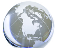 Monde de Cristal Image stock
