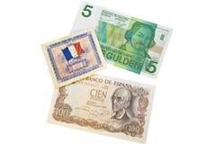 monde de devise Photographie stock