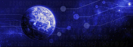 Monde de Digital Image stock
