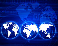 Monde de Digitals Images libres de droits