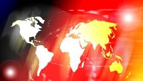 Monde de Digitals image libre de droits