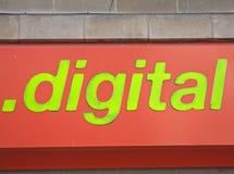 Monde de Digitals en vert. Images stock