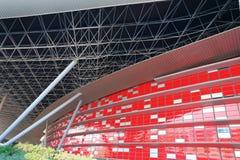 Monde de Ferrari de centre de divertissement en Abu Dhabi Image libre de droits