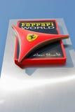 Monde de Ferrari de centre de divertissement en Abu Dhabi Photographie stock libre de droits