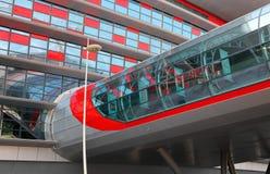 Monde de Ferrari de centre de divertissement en Abu Dhabi Photos libres de droits