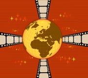 Monde de film Photo stock