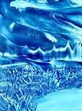 Monde de glace Photo stock