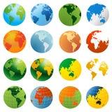 monde de globe illustration stock